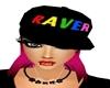*TK* Raver Hat Pink Hair