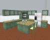 [JS] Green Wood Kitchen