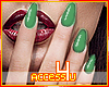 ! Luxury Green Nails