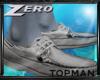 |Z| TM Gray Boat shoes