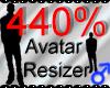 *M* Avatar Scaler 440%
