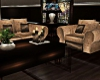 Large couches with deco