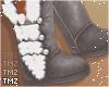 Kai Fur Boots -Grey