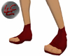 Red Ninja Shoes
