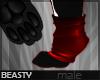 ✘Sock Paws   Red v2