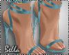 ^B^ Blue Shoes