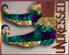 (A) Mardi Gras Shoes