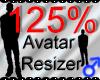 *M* Avatar Scaler 125%