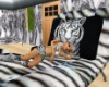 tiger stripe sofa bed