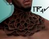T| Neck Tattoo