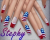 |S| Memorial Day Nails