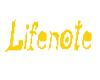 Lifenote