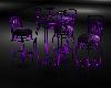 D Neon Purple Club Table
