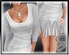 [Sev] Frill Dress White