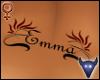 Emma back tattoo (f)