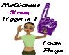 Melbourne Storm Finger