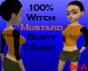 100% Witch Mustard Tee