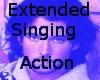 Singing Action