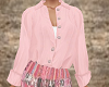 TF* Pink Tucked Blouse