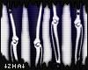 |Z| Black White Bones M