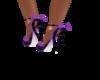 Lilac shoes UA