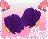 Purple Arm Peonies