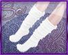*S Warm Socks White