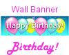 Balloons Birthday Banner