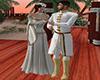 romantic wedding walk