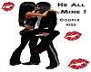 He All Mine Couple Kiss