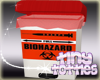 Bio Hazard Trash Needles
