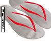 [AZ] Red flip flop