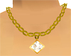 Gold Necklace Diamond