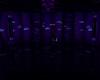 Aqua purple Glow Room