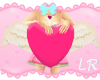 [L] Pink Floating Heart