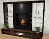 The Penthouse fire place