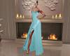 Diriana Teal Gown