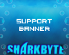 E| Small Support Banner