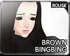 |2' Darkbrown Bingbing