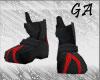 GA Blk M Armor Boots