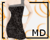 Gray Spotted Dress {MD}