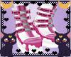 FOX Devil pink boots M/F