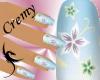 ¤C¤ Nails floral heaven