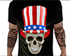 USA Skull Shirt (M)