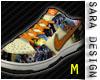 (SD) Sneakers Orange M