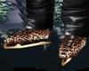Cheetah Gold Iceskates