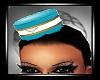 Stewardess Hat blue