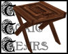 TTT Carved Wood Table