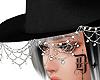 D+. Crystal hat