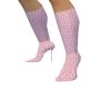 {BE}Pink fendi boots